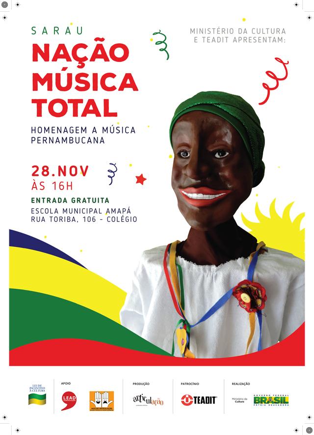Nação Musica Total - Cartaz A3